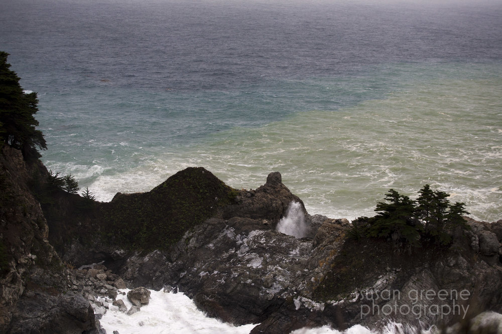 big sur blowhole