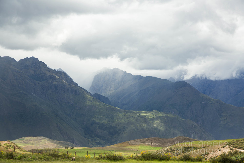 stormy andes