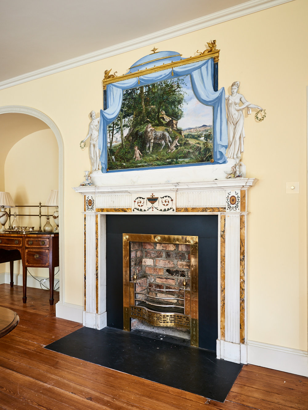 Alan Turkington Interior Hall Fireplace.jpg