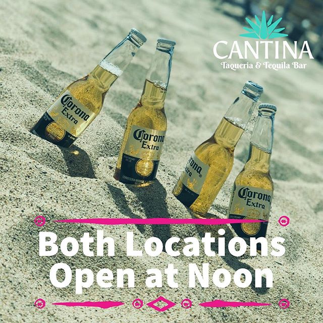 Both locations now open at 12/Noon EVERY FRIDAY! #LunchOnLenox specials at our Cantina on Lenox + #HappyHour 3-7pm at both! #Harlem #NYC #Tacos #TGIF #mexicanfood #cantinatower #tacos #margaritas #corona