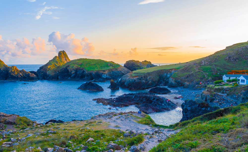 Kynance Cove, Cornwall - Photo by Jack Pease