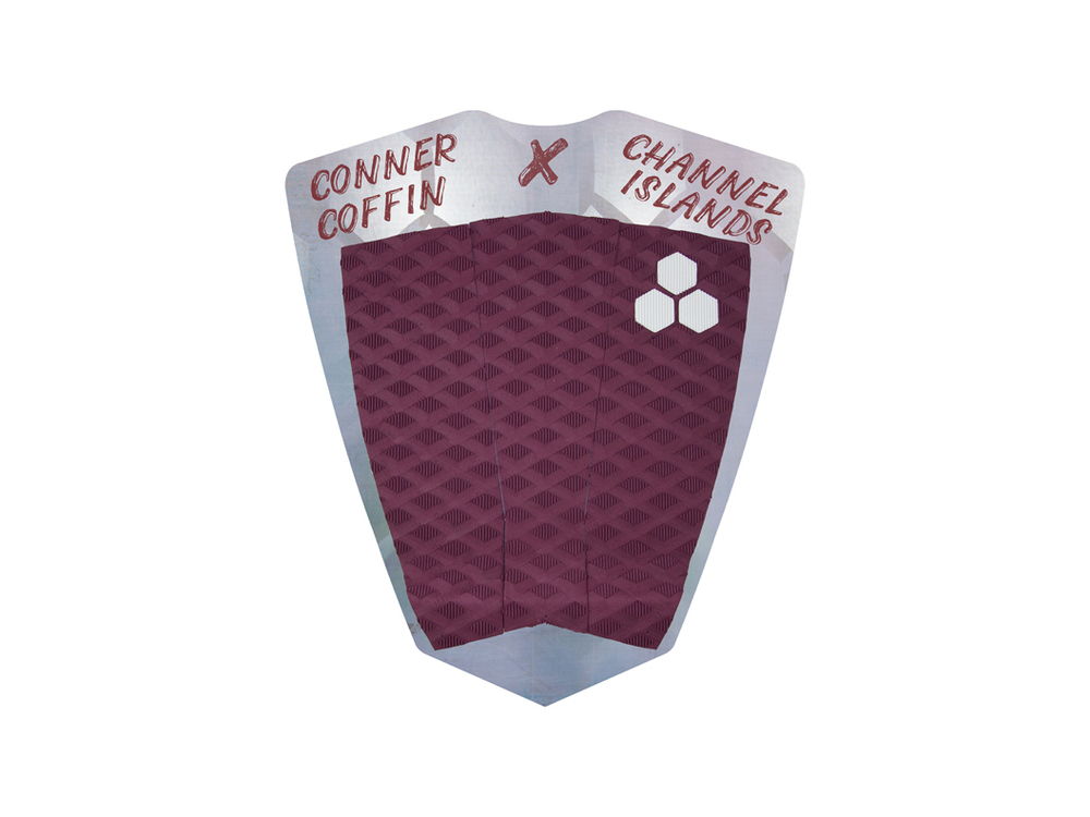 Conner Coffin Mixed Groove Traction Pad - Maroon.jpg
