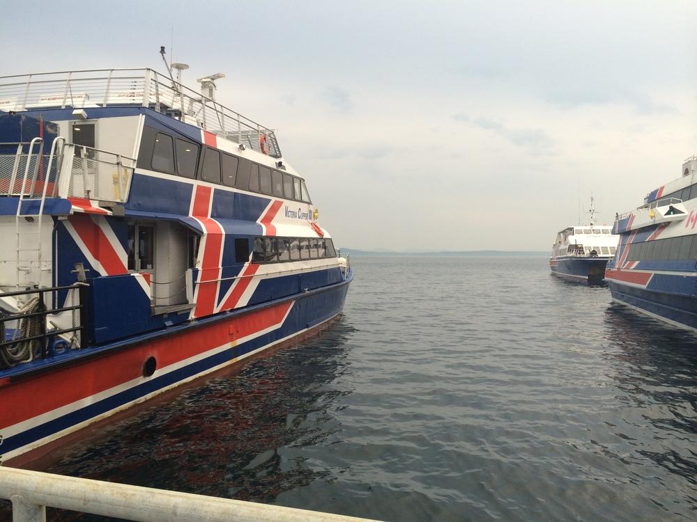 Clipper Ferry docked in Seattle