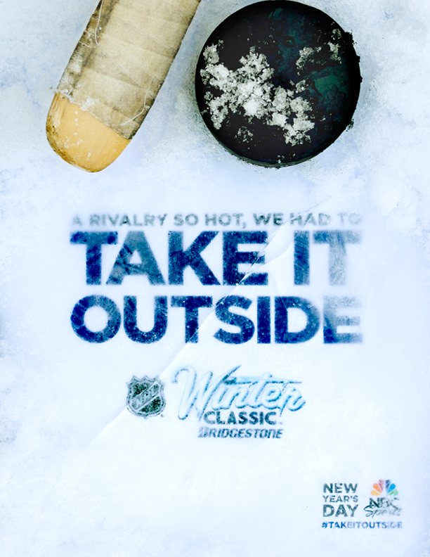 2016 NHL Winter Classic Full-Page Print Ad