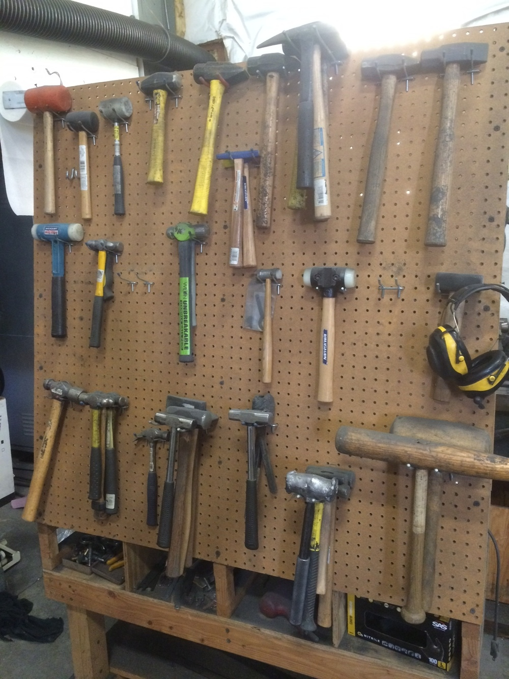 Yes, I do like hammers.