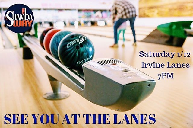 Don't miss it this Saturday the 12th we will be having a Shamba family bowling night!! We can't wait to have a little friendly competition.  We'll catch ya at Irvine Lanes, 7 PM ! • • • #bowling #familynight #competition #bonding #fun #theshambaway #TSW #shambafit #costamesa #newportbeach #fitness #fitfam #gym #gymlife #lifestyle #crossfit #hiit #movelikeitmatters #eatrealfood #dontbeadick #fuelhappiness