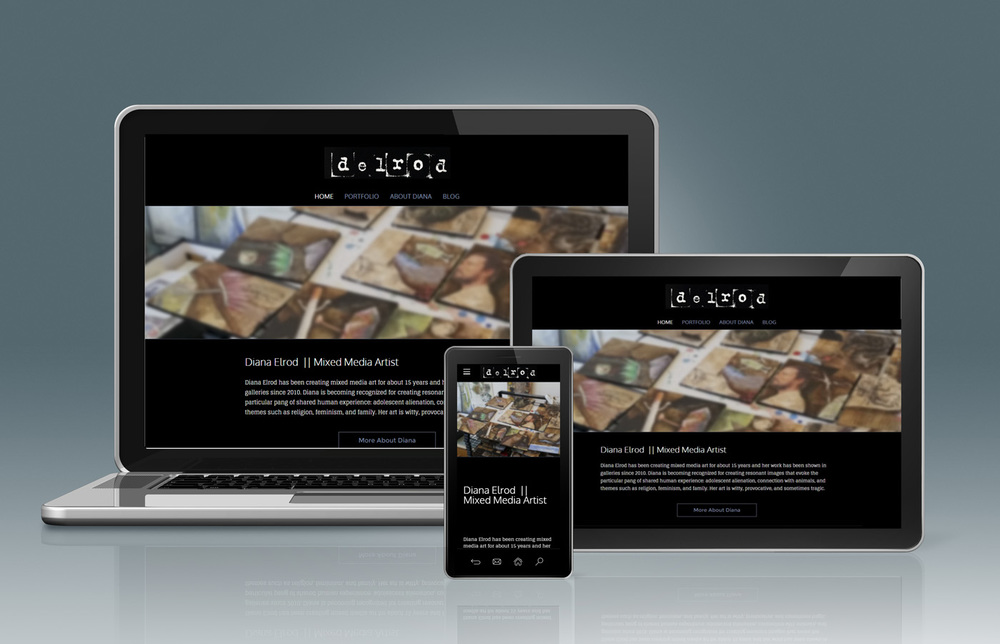 Responsive websites make viewing a positive experience whether on laptop, tablet or mobile device.