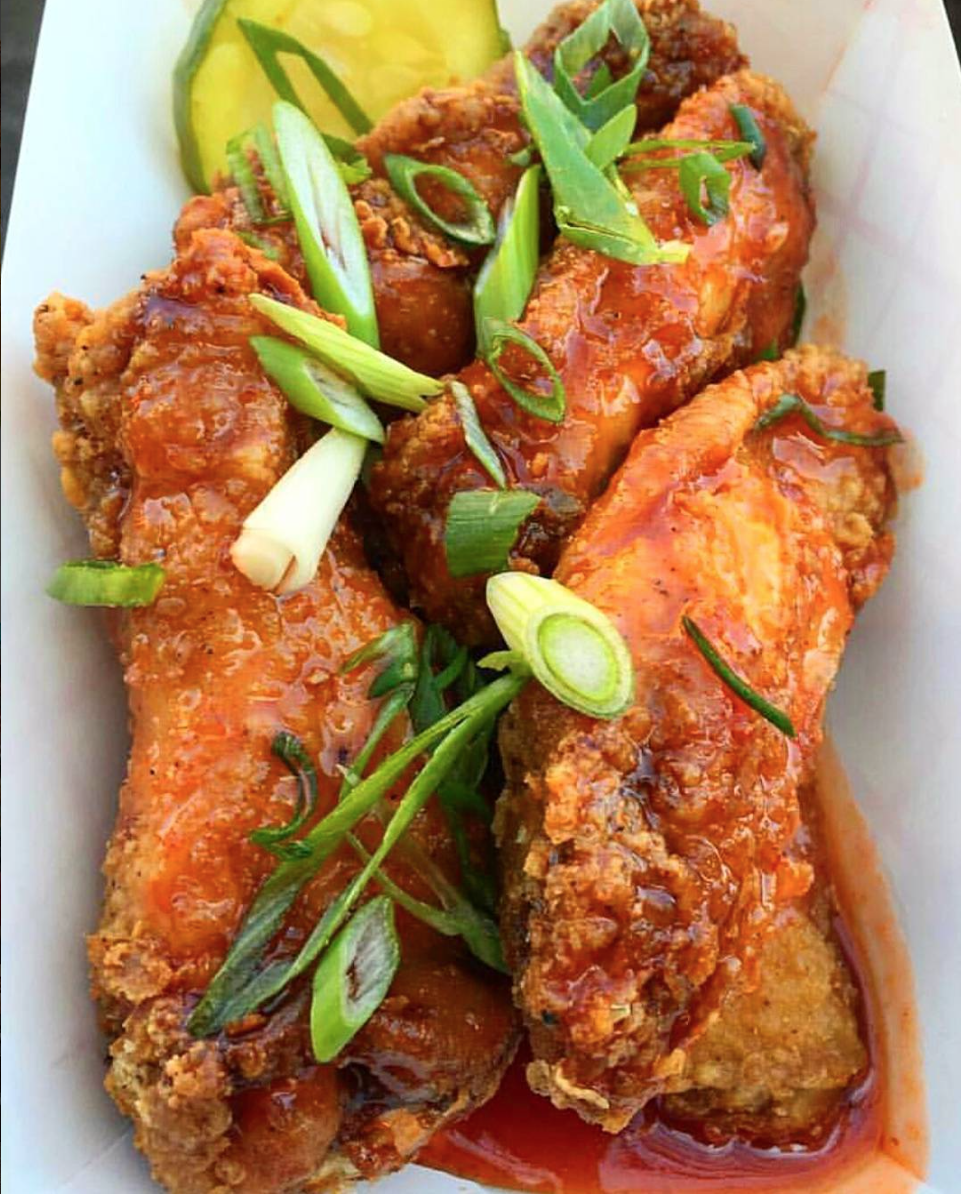 honey hot fried chicken