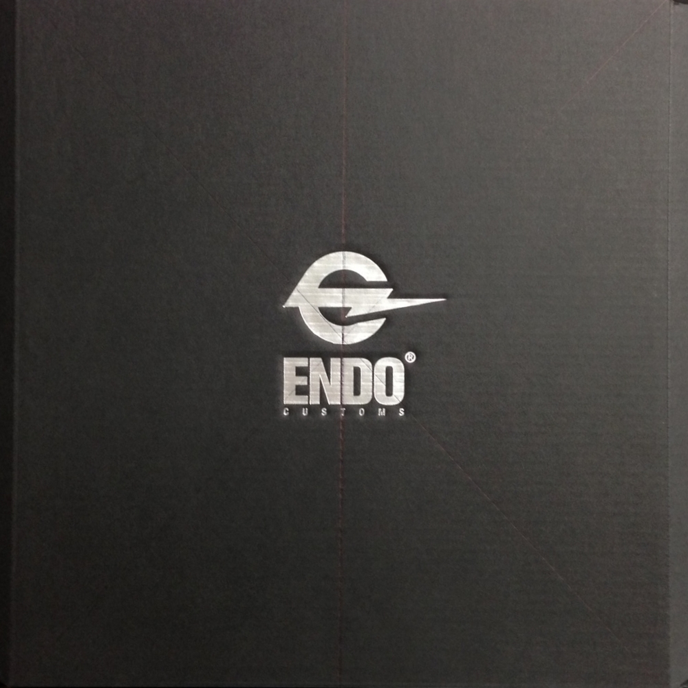 Packaging design w/ Endo Customs