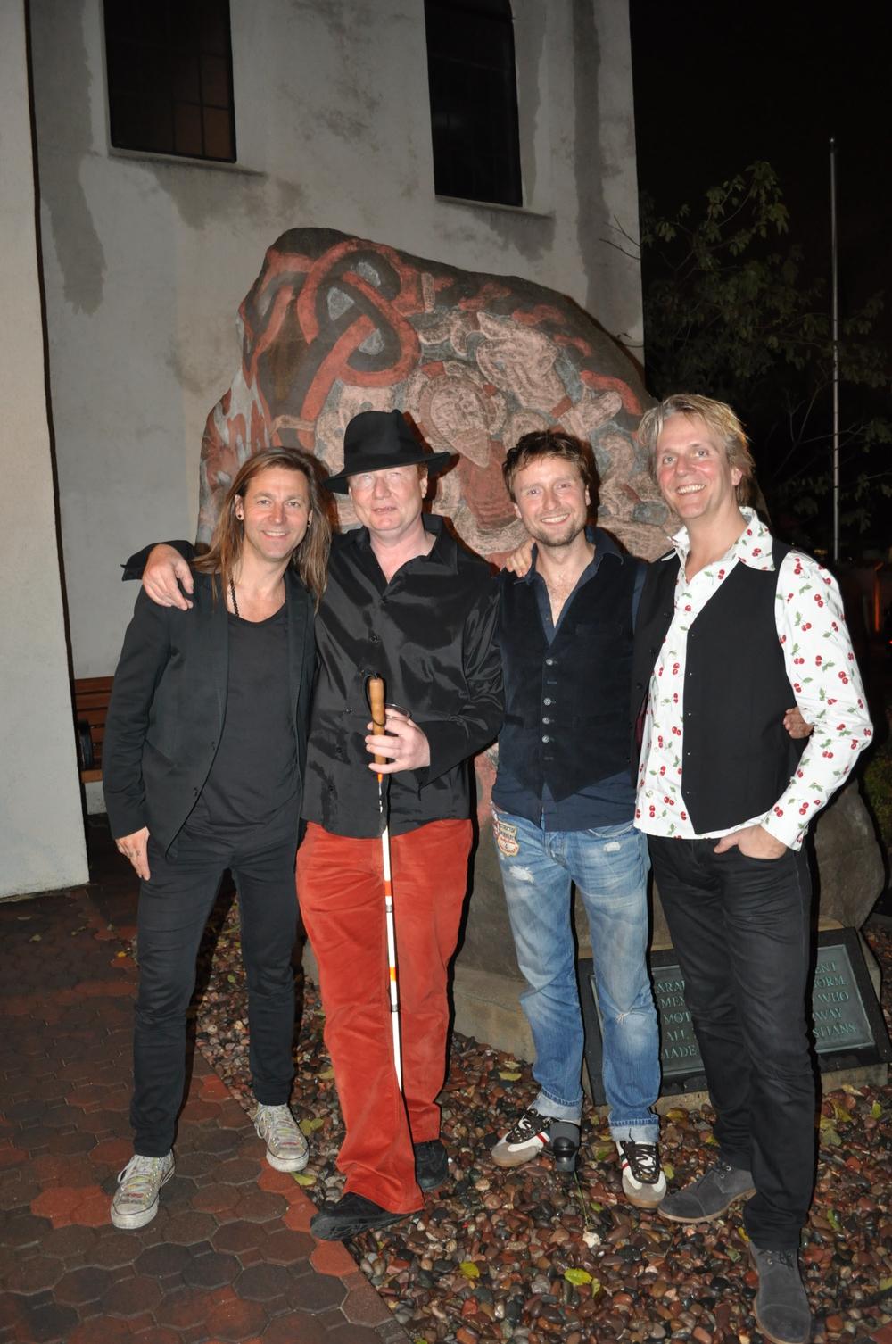 Henrik Engquist, Søren Hawk, Poul,  David Rosenkilde