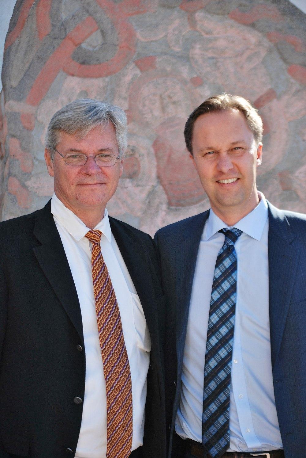 H.E. Peter Taskøe-Hansen & Torben Aaskov