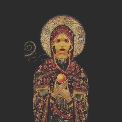 . .. Sacred mother. Sacred Daughter. .. . #sistersofthetide #sisterhood #sisters #sacredground #prayercircle #witchesunite #guidance #innerguide #womensgathering #womensretreat #eve