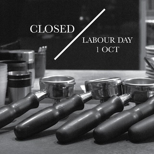 Hills Bros will be closed Labour Day 1st October. See you bright and early on Tuesday for your morning coffees. . . . #hillsbrossydney #sydneycafe #sydneycoffee #sydneyeats #breakfastinsydney #labourday #martinplace