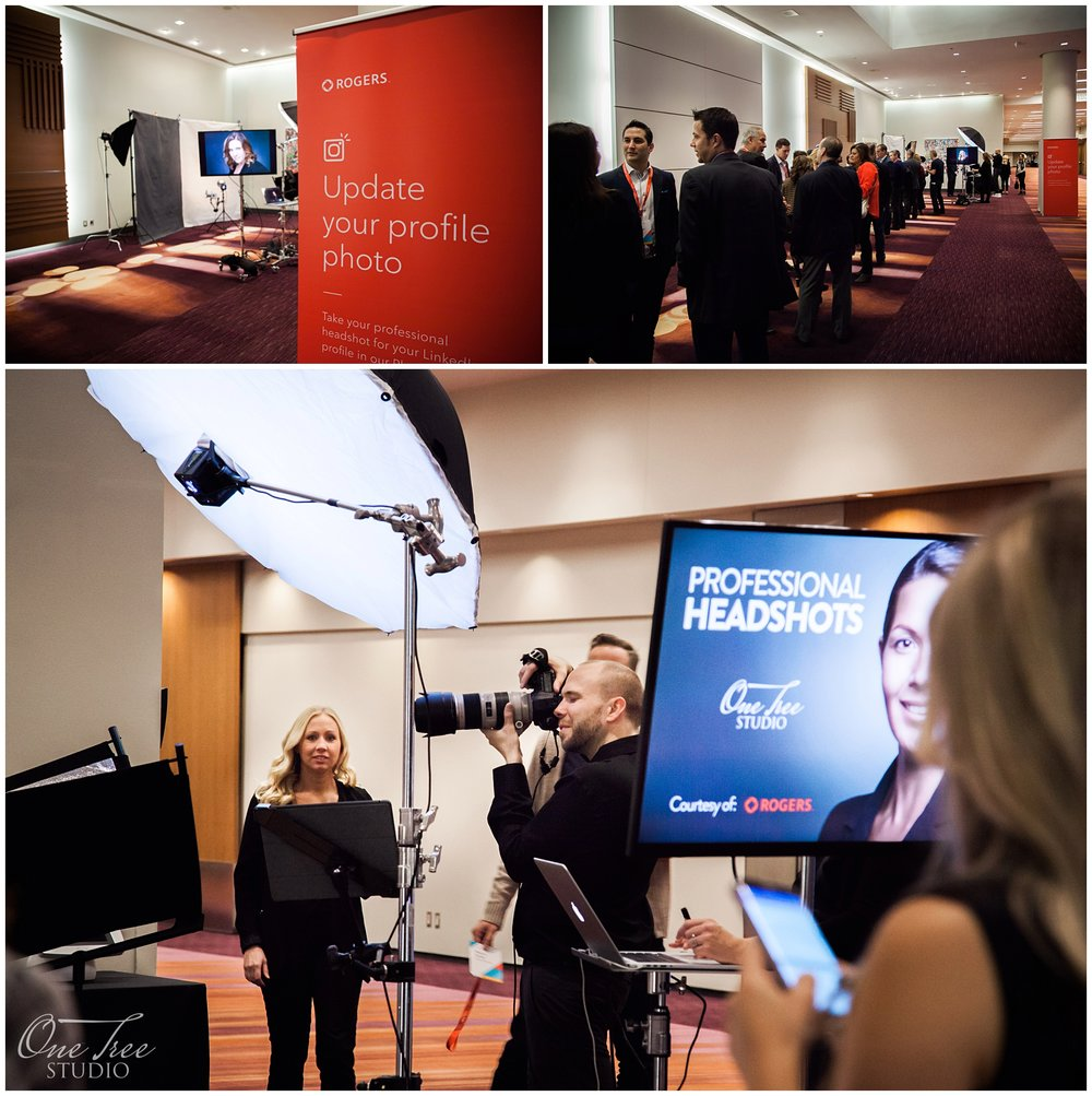 Trade Show Headshot Booth | Toronto Headshot Photographer | One Tree Studio Inc.