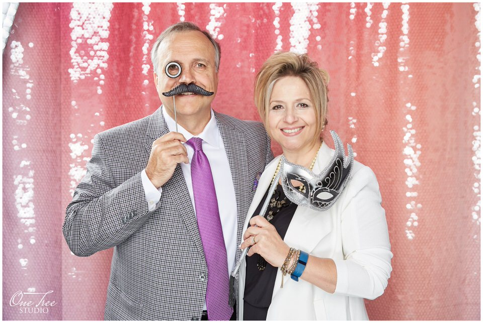 Full-service Toronto Photo Booth with Photographers  | York Mills Gallery | One Tree Studio Booth