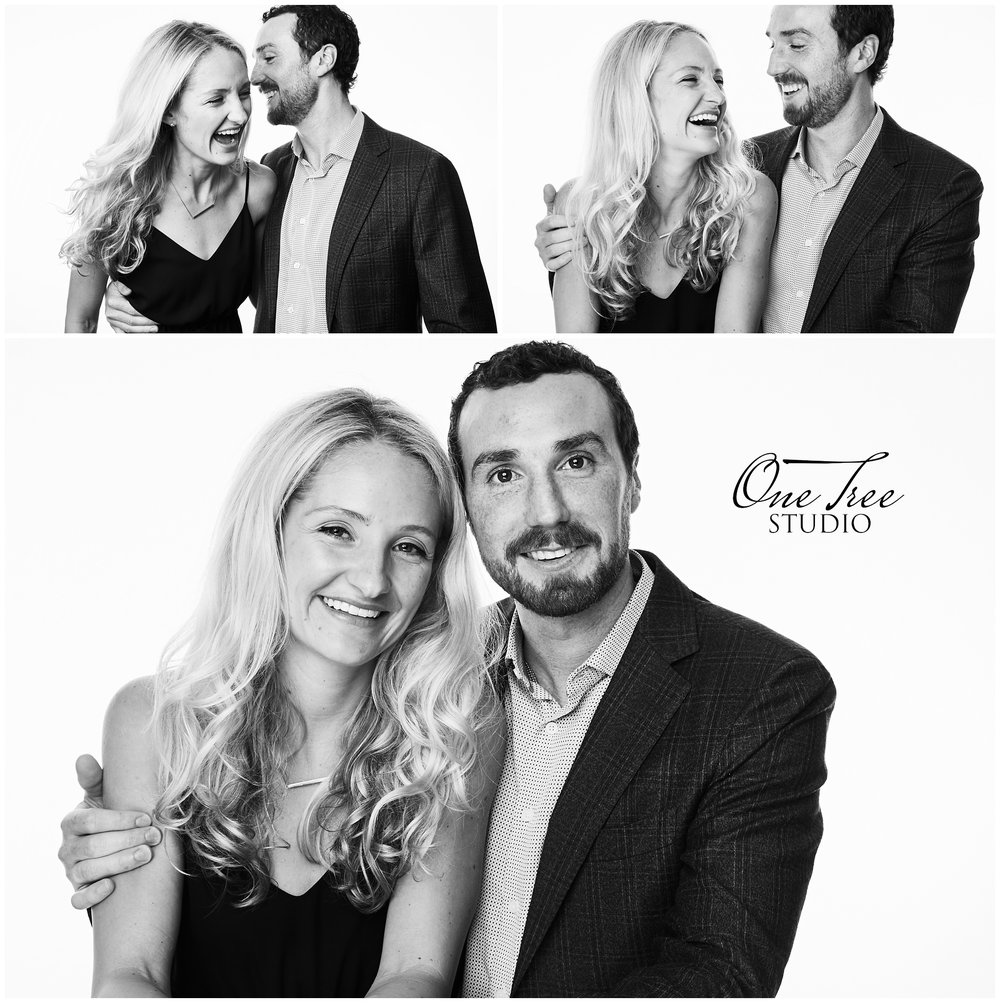 Black and White Event Portrait Photo Booth