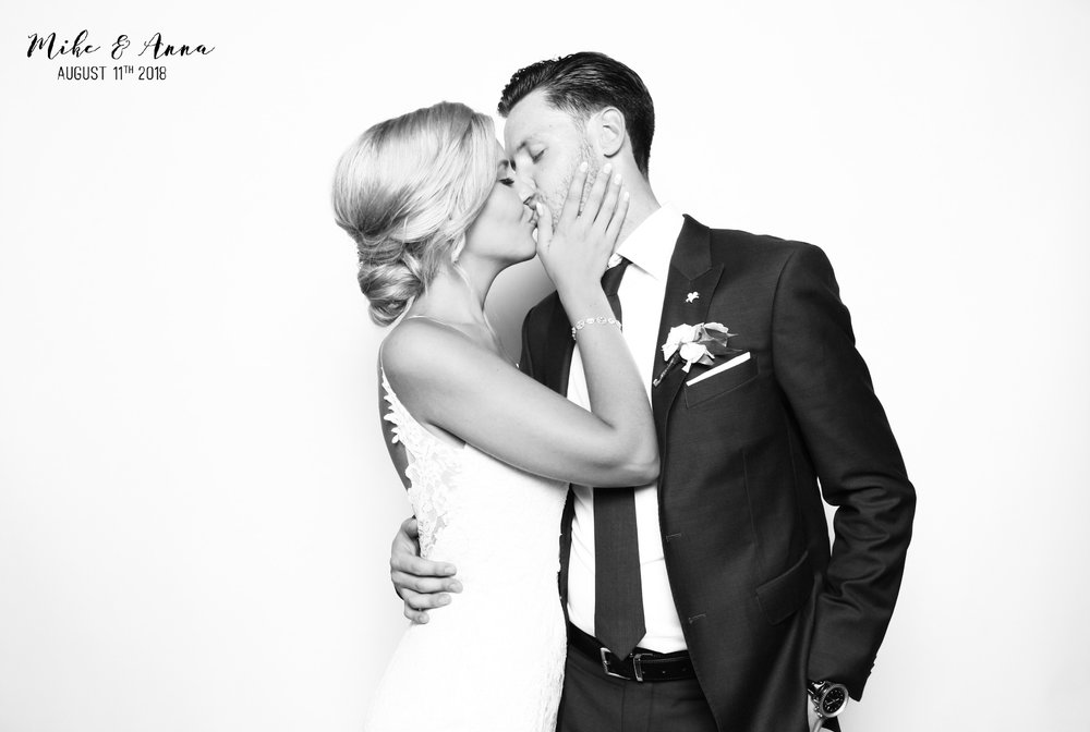 Luxury Black and White Photo Booth