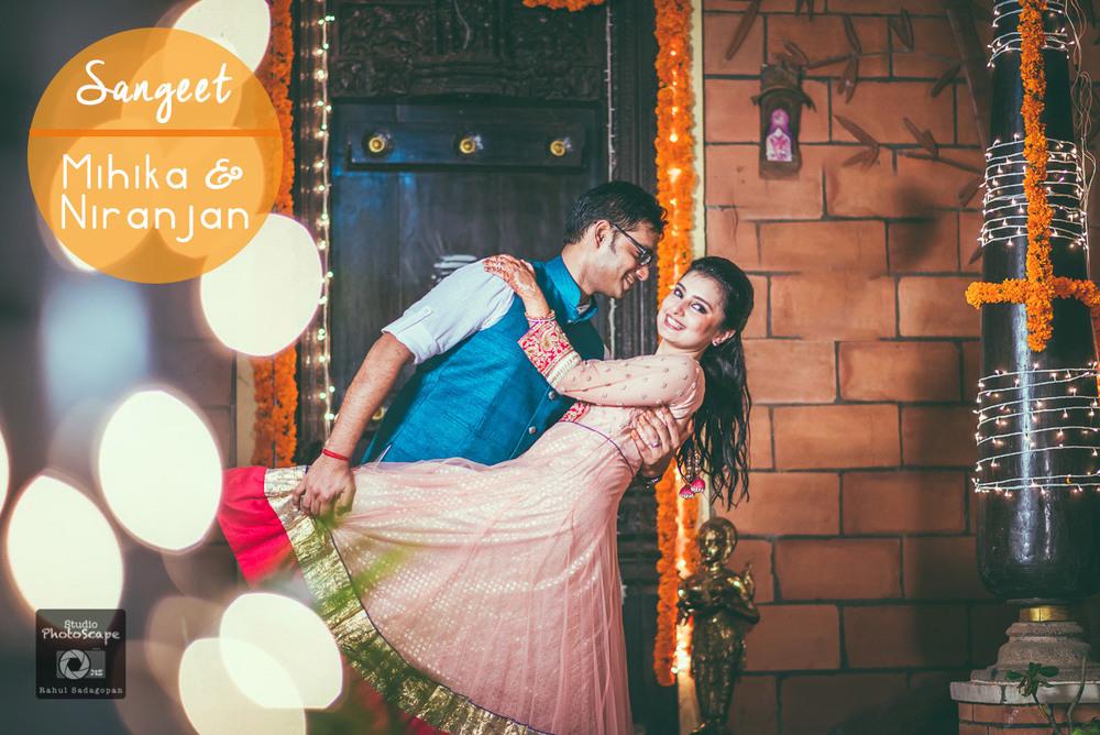 Mihika-Niranjan-Sangeet