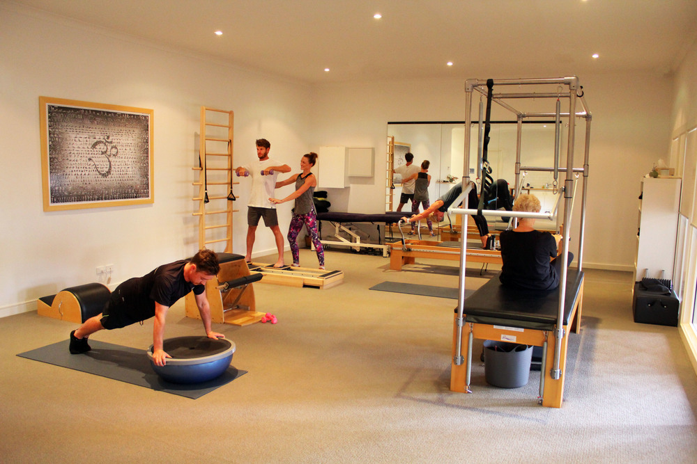 """Physical fitness is the first requisite of happiness. In order to achieve happiness, it is imperative to gain mastery of your body"" - Joseph Pilates    IT STARTS WITH YOU    Book Now"