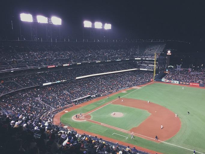 Baseball Field Image - vida es oro - Welcome Page