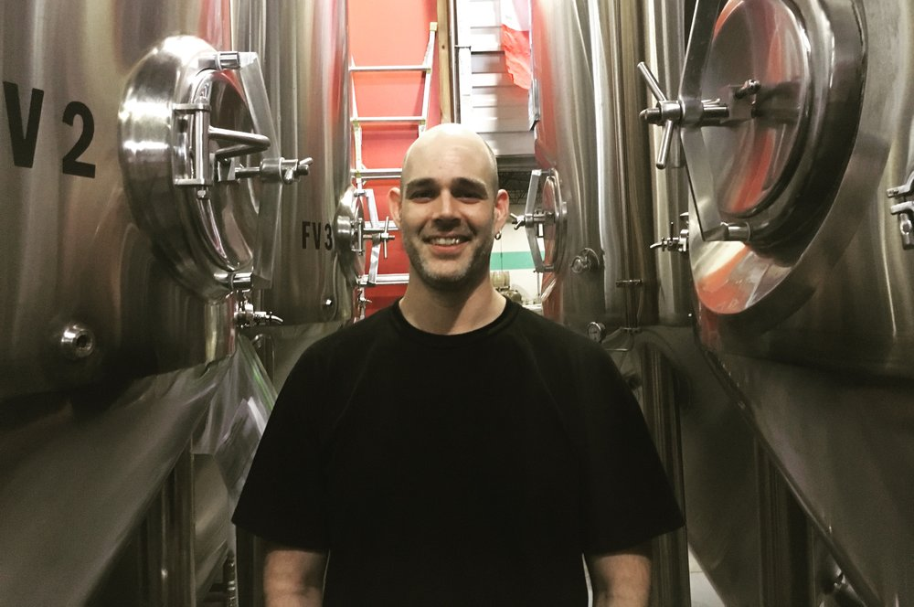 Meet Nathan,  Our trusty assistant brewer works hard behind the scenes to make sure every batch of beer turns out perfect. He is a graduate of Kwantlen Polytechnic University's Brewing Program.  His favourite beer is Val-Dieu Grand Cru.  Thanks for all your hard work, Nathan!
