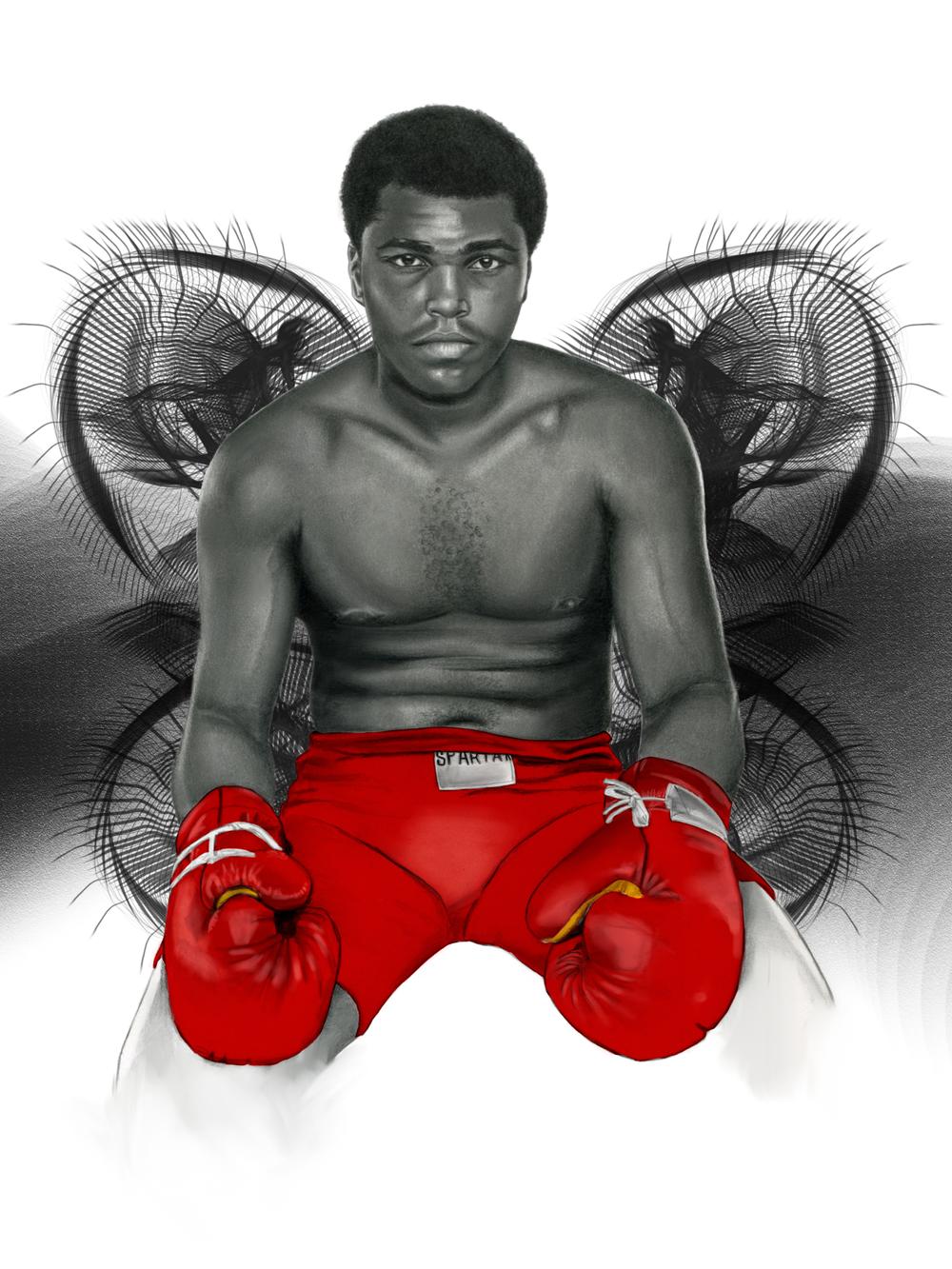 Ali Red Trunks