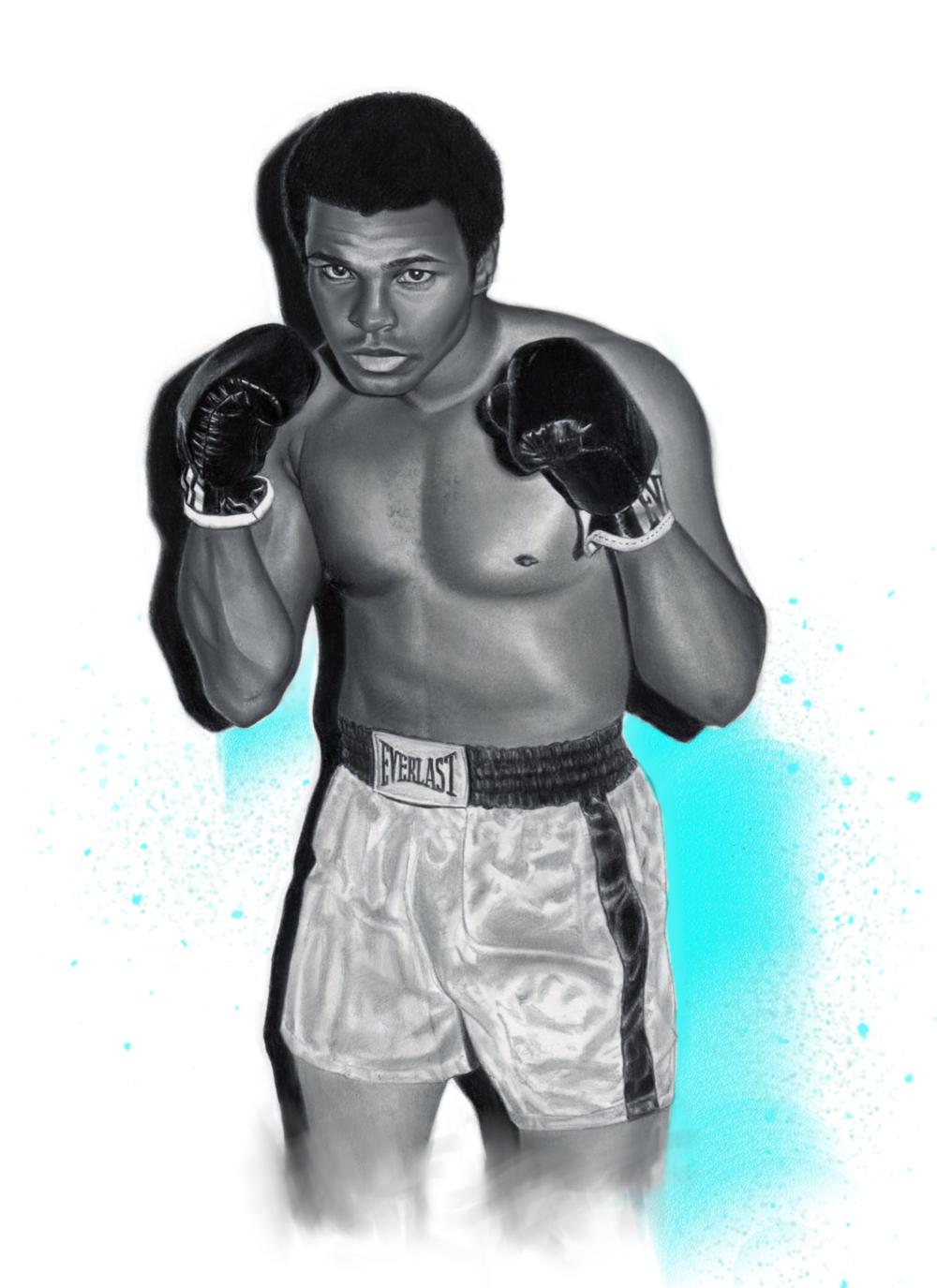 Ali White Trunks