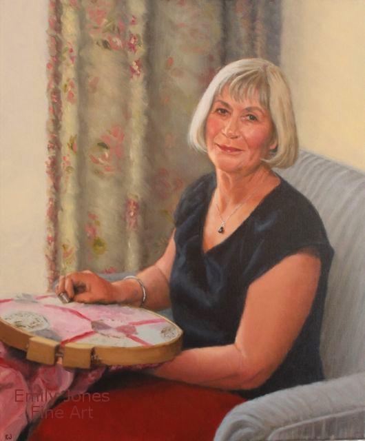 Anthea  | 2015 | Oil on linen * Portrait Commission