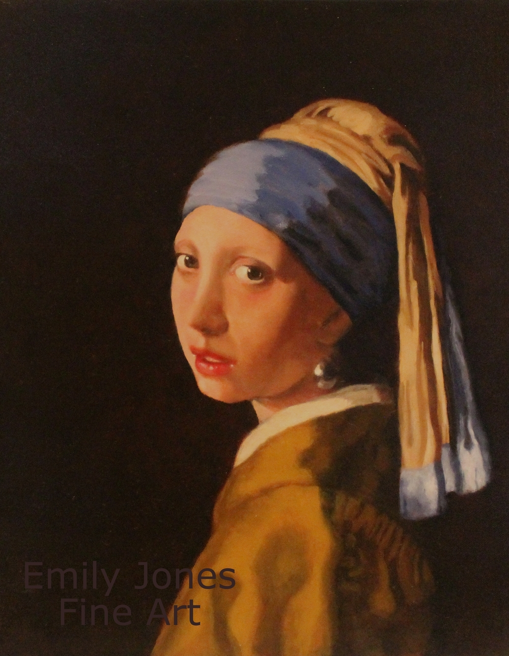 Copy After Johannes Vermeer  | 2013 | Oil on canvas