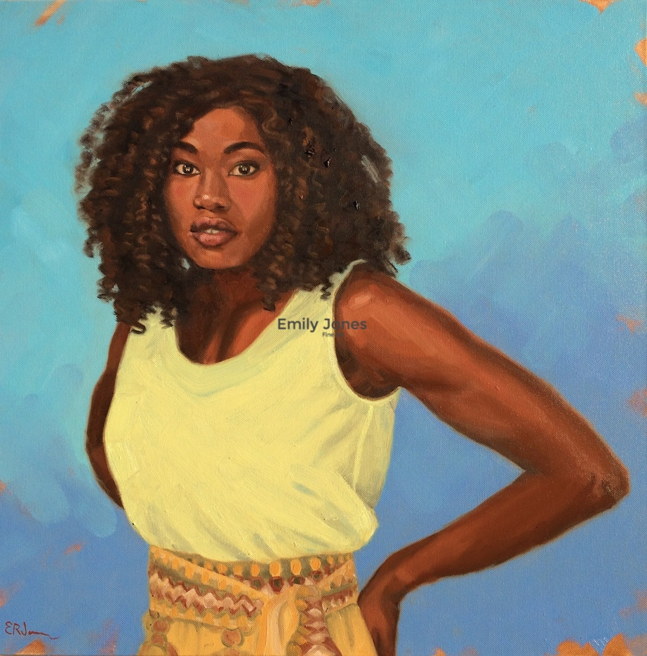 Ms. Ojwiya  | 2018 | Oil on canvas