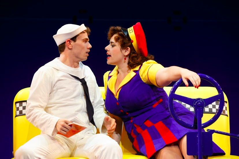 "Jay & Alysha Umphress in ""On the Town""  - Photo by Joan Marcus"