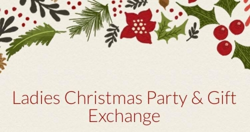 Ladies\' Christmas Party & Gift Exchange — King\'s Cross Church