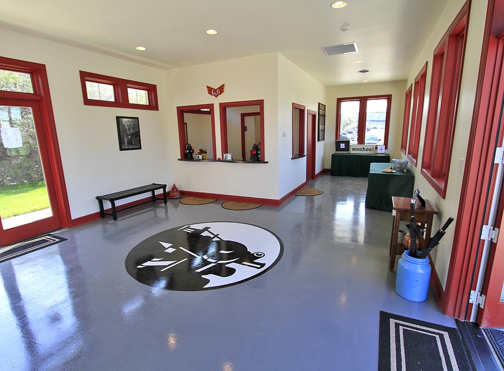 3RR Depot Interior