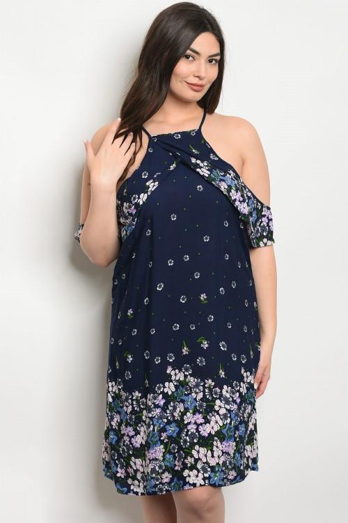 Open Off the Shoulder Plus Size Dress — Jaxlee\'s Bucket