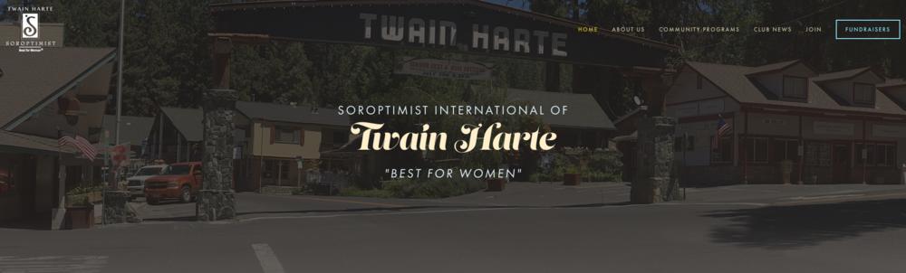 Twain Harte Soroptimist