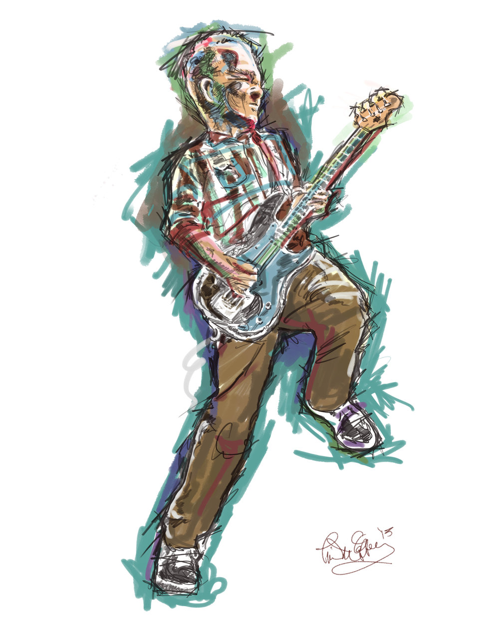 Scott Thunes - Frank Zappa - The Mother Hips