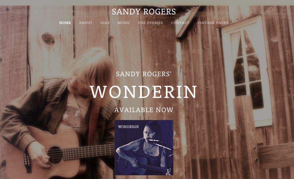 Sandy Rogers / Rattle Records