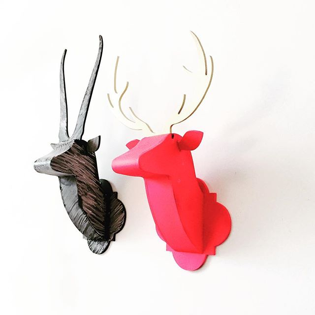 Wild Mini Duo Mixed Media keeping it real! #minimalist #modernart #blackandwhite #moderndesign #modernhome #wallart #walldecor #livingroom #livingroomdecor #interiorstyling #interiordesign #sculpture #colorblocking #art #gallerywall #gallerywallinspo #edgy #livingroom #livingroomdecor #sculpture #gifts #giftsforher #nurserydecor #kidsroomdecoration #animalhead #trophyhead #fauxanimalheads #interiordesigner #interiorandhome #instainterior #artpiece #livingspace #gifts