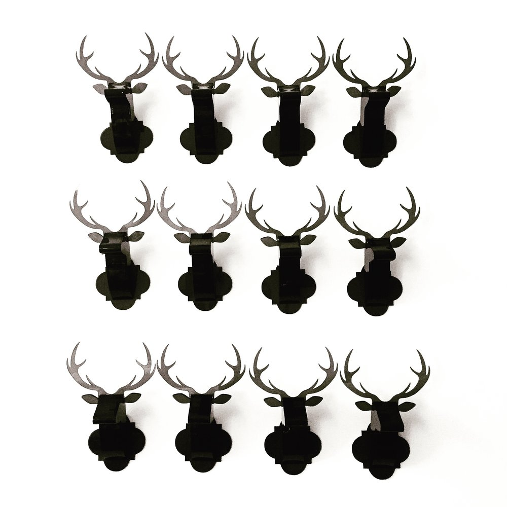 Mini Deer - Black Opaque Wall.JPG