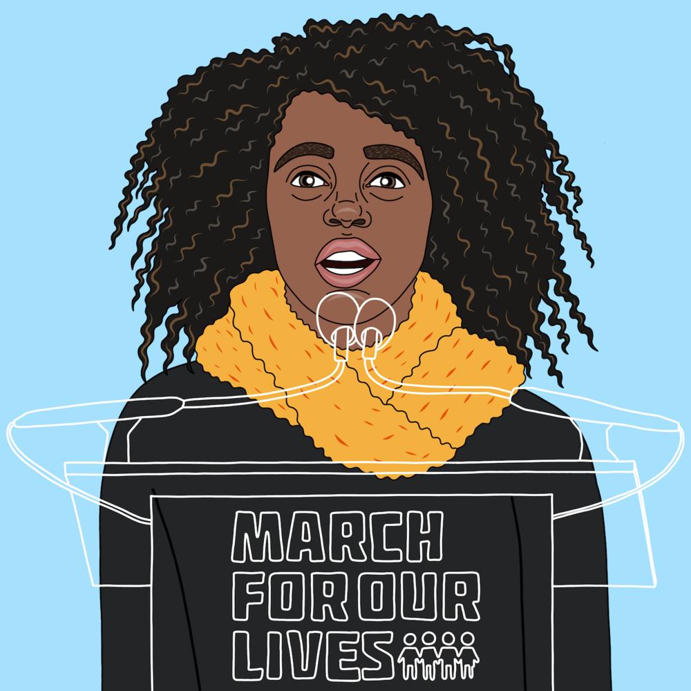Naomi Walder gun reform activist.