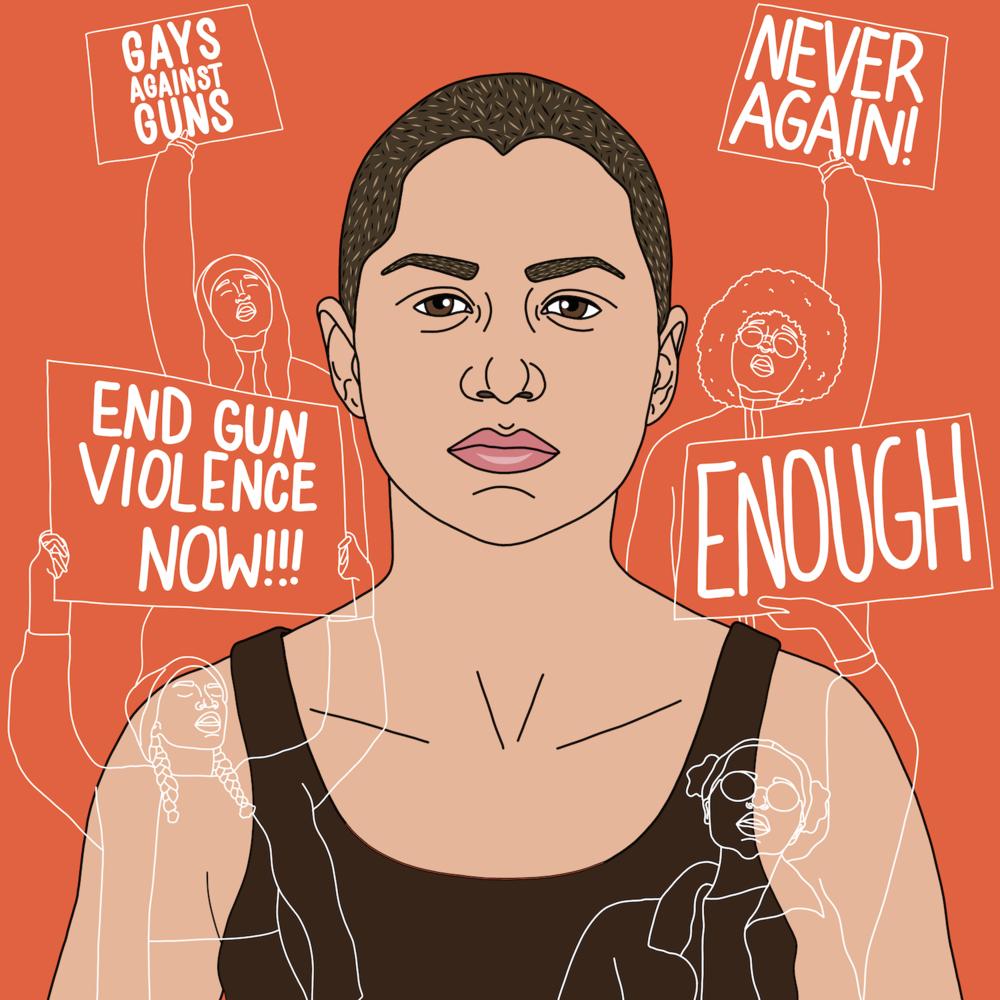 Emma Gonzalez activist, organizer, and advocate for gun control.