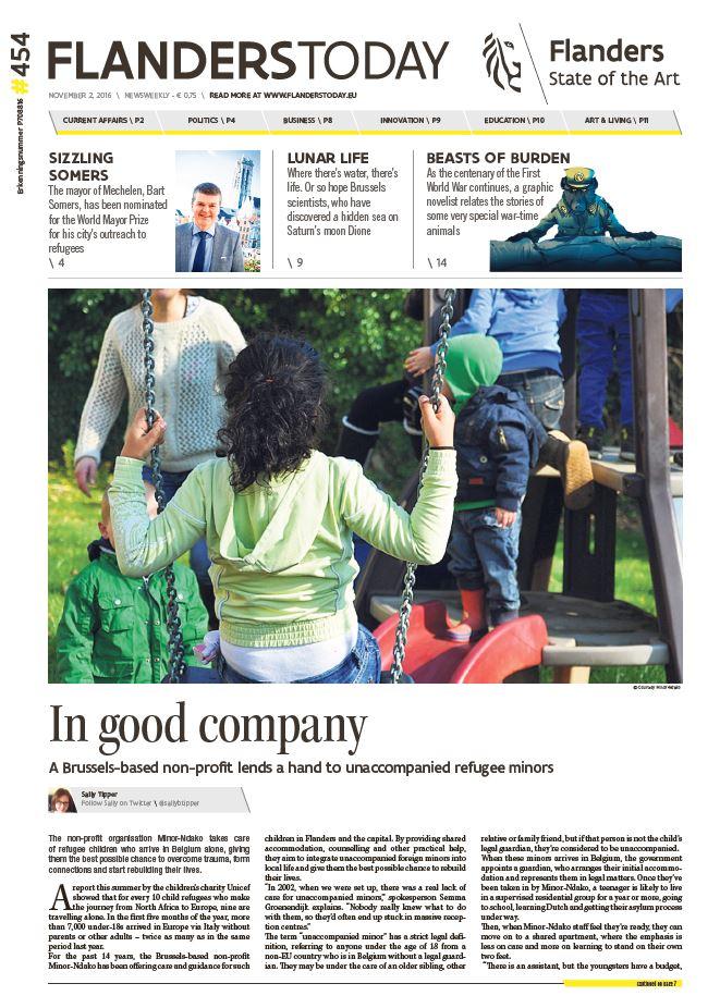 Flanders Today (print & online): deputy editor