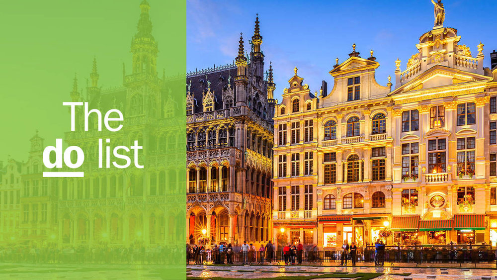The 13 best things to do in Brussels - Published in Time Out, October 2018