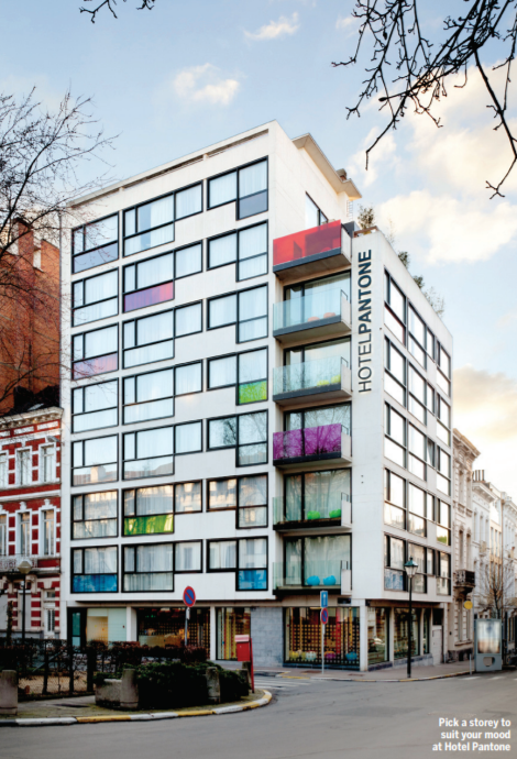 BThere: Saint-Gilles, EU quarter & Chatelain - Published by Brussels Airlines, March 2015