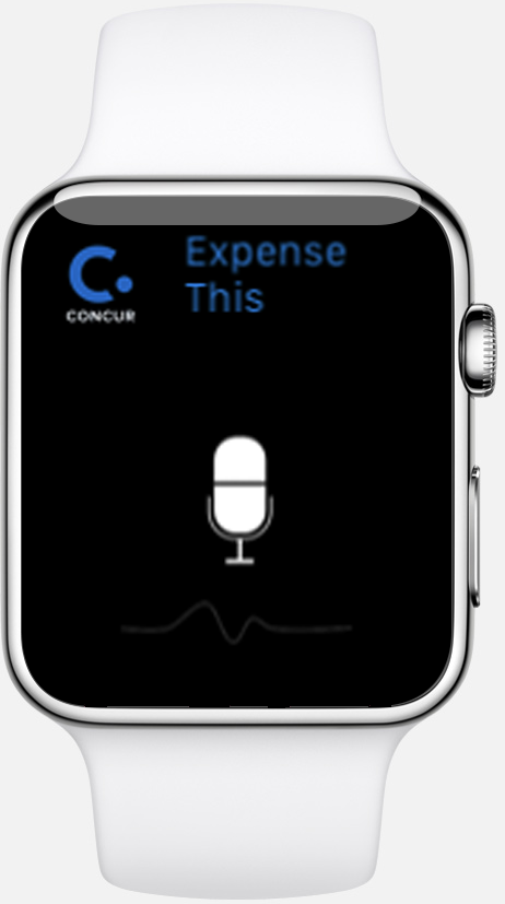 iWatch app screenshot