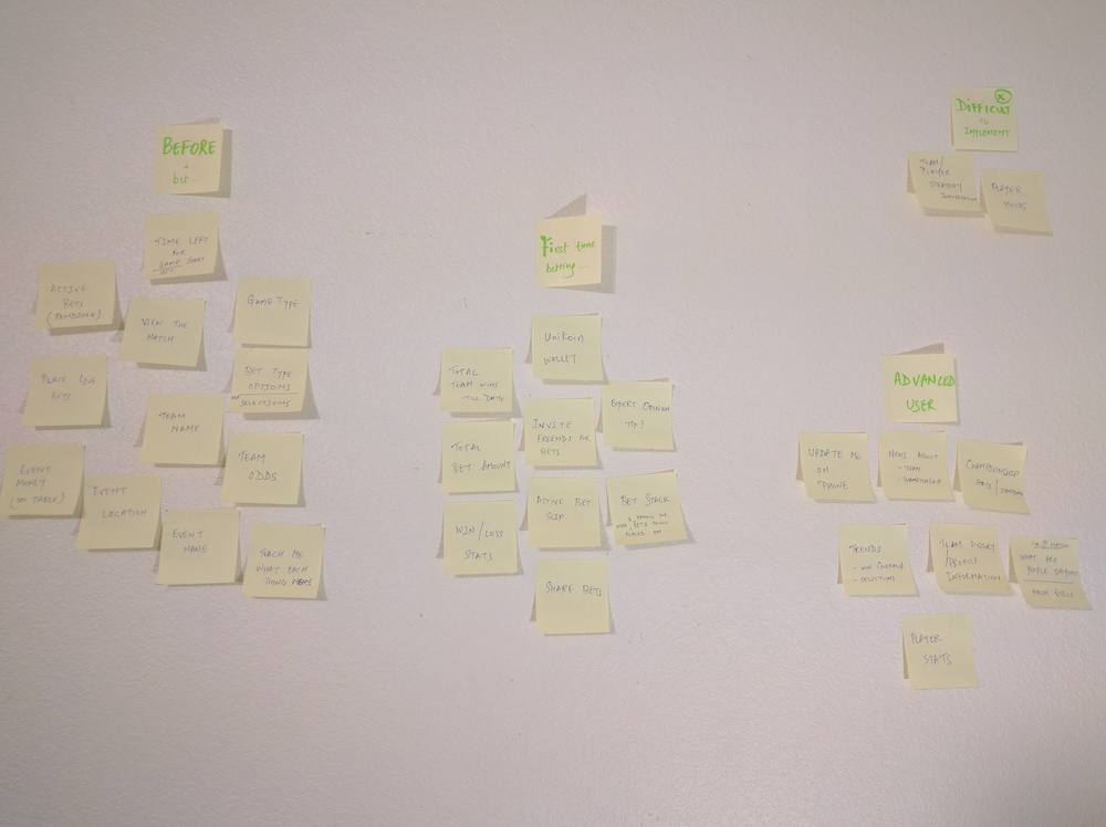 Using affinity diagram to maintain content hierarchy