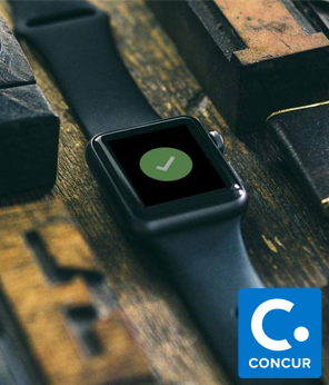 ExpenseThis Apple Watch app prototype -  Concur Internship