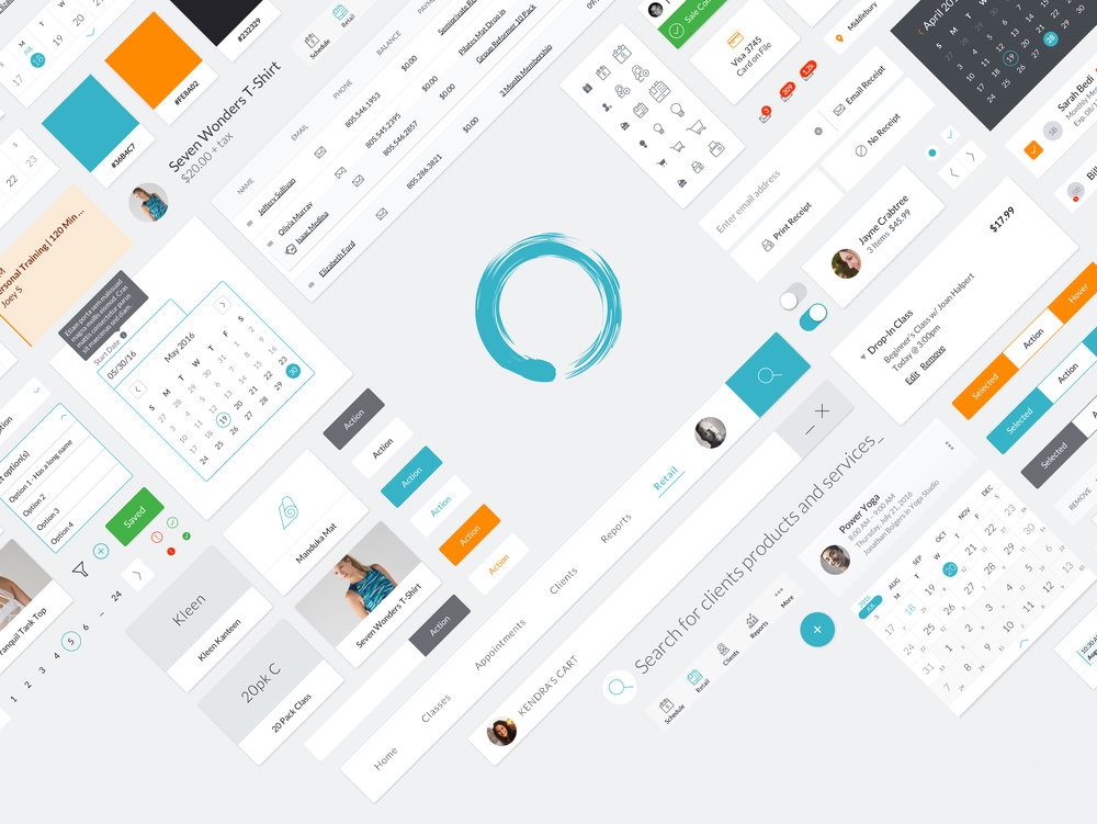 MINDBODY -  Product Design (UX, Interactions, Visual)