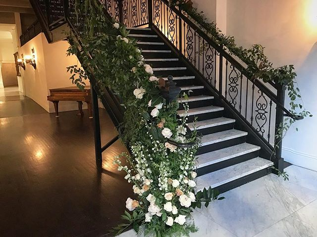 My favorite design to date 😍 I went up and down these stairs primping and designing to my heart's content and just love how it turned out!