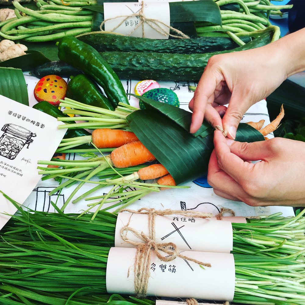 Power of Food - We collaborated with 'more chopsticks' (多雙筷) on projects related to health and food with elderly. We organized workshops and to sell organic farm products.